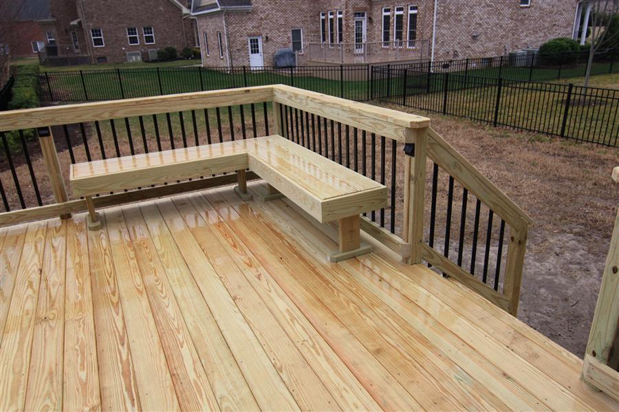 custom wood decks chicago